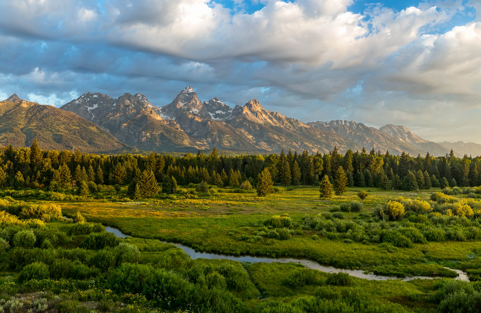 A magical morning in Grand Teton National Park